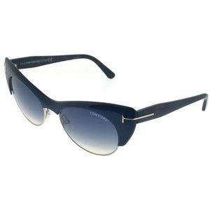 Tom Ford FT0387-89W Women's Blue Frame Sunglasses